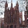 Vilnius: La Chiesa di Sant'Anna